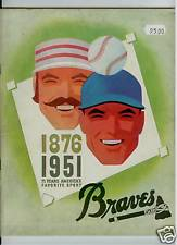 1951 Boston Braves