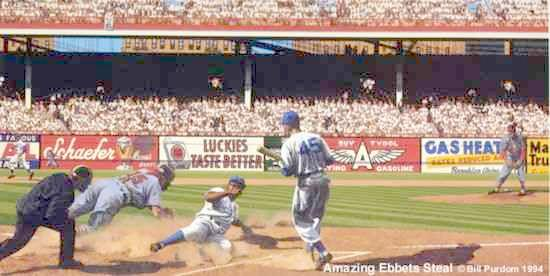 Amazing Ebbets Steal